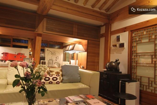 Cheongsongjae - living room