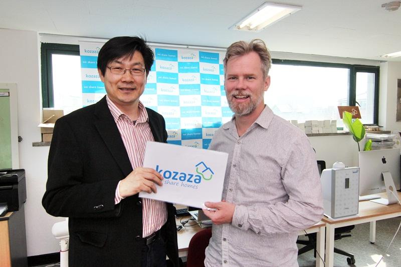 Neal Gorenflo visited kozaza office