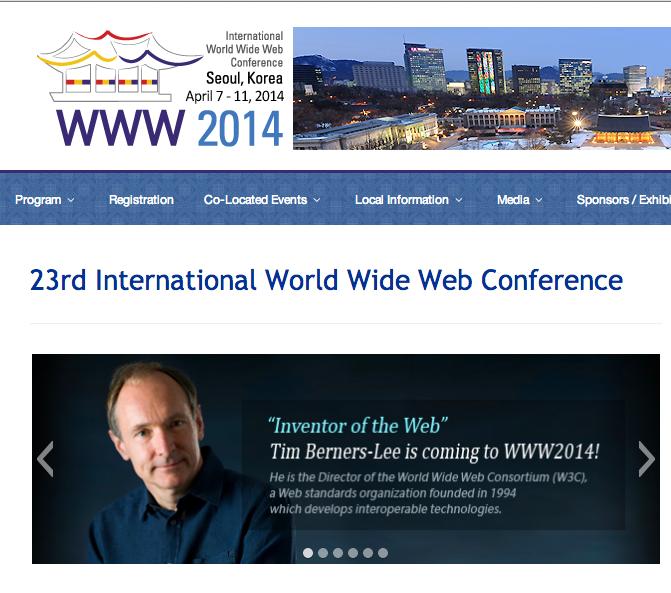 kozaza is a partner of WWW2014 Seoul.