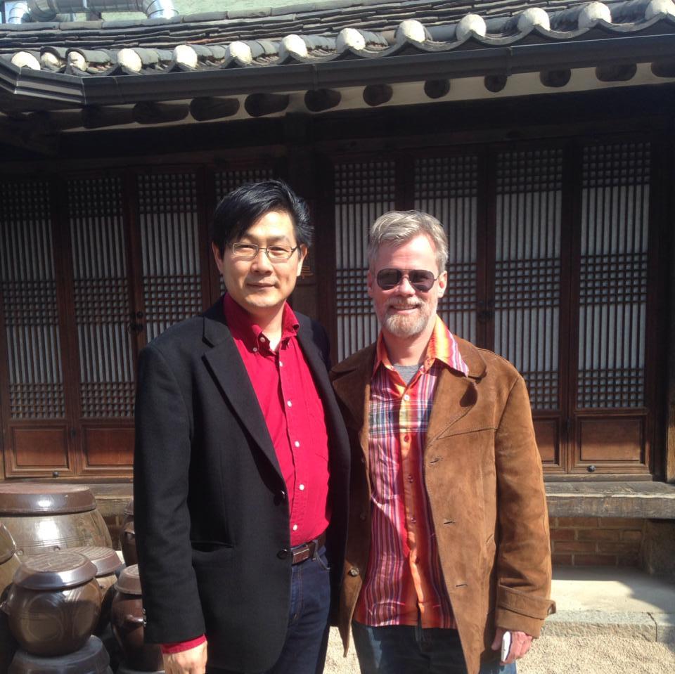 Neal and SanKu Jo at Bukchon Hanok